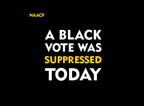 A Black Vote was suppressed
