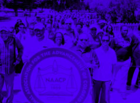 Blue Naacp March