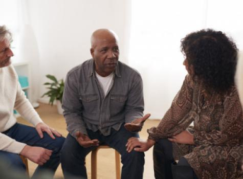 Adult Group Counseling Session