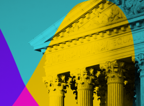 Supreme Court styled image